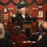 1 of 25 - Be spellbound by the great Charles Dickens - Himself! Photo by Rich Yee; all rights reserved.