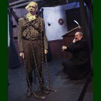 15 of 24 - The Ghost of Jacob Marley warns Scrooge to change his ways. Photo by Raymond Van Tassel; all rights reserved.
