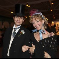 21 of 24 - Romance abounds at the Great Dickens Christmas Fair. Photo by Raymond Van Tassel; all rights reserved.