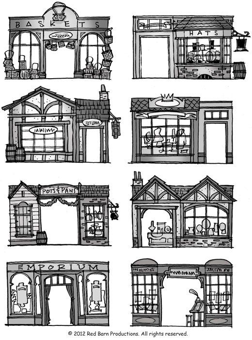 Dickens Fair Booth Building Guidelines