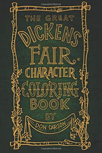 dickens fair coloring book cover